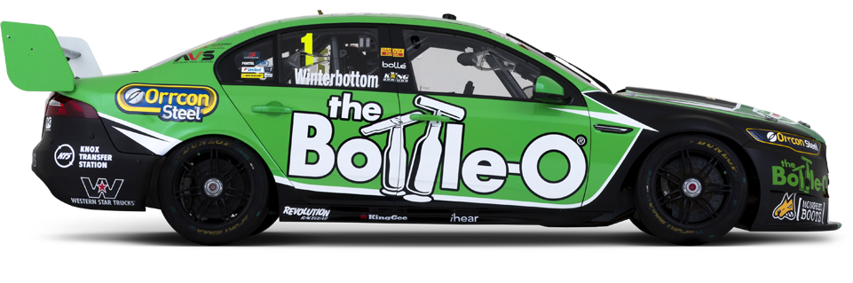 Mark Winterbottom's #5 PRA Ford V8 Supercar